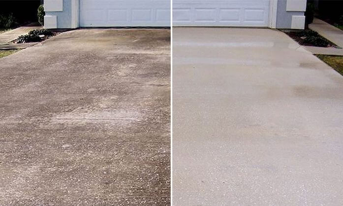 metairie driveway cleaning