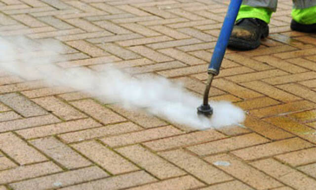 commercial concrete cleaning in metairie